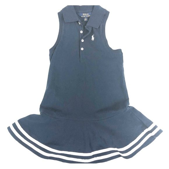 NWT Ralph Lauren Baby Girls/' Sleeveless Polo Dress